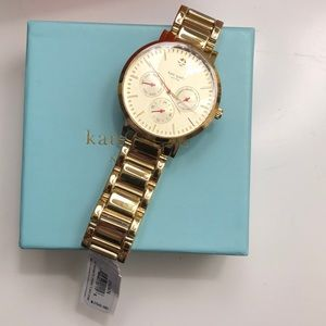 NWT kate spade gold watch